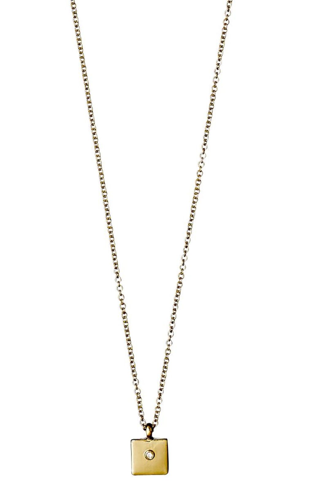 Pilgrim Sophy Gold Plated Necklace - Main Image