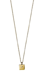 Pilgrim Sophy Gold Plated Necklace - Front cropped