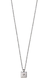Pilgrim Sophy Silver Plated Necklace - Front cropped