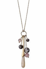 Pilgrim Vanessa Gold-Plated Necklace - Front cropped