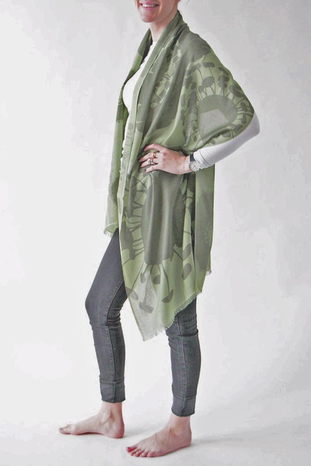Pilgrim Waters Bloom Green Scarf - Main Image