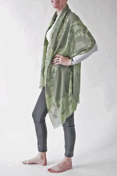 Shoptiques Product: Bloom Green Scarf