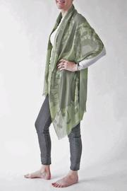 Pilgrim Waters Bloom Green Scarf - Front cropped