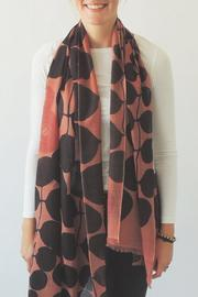 Pilgrim Waters Salmon Print Scarf - Product Mini Image
