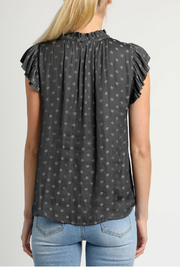 Current Air Pilka dot blouse - Front full body
