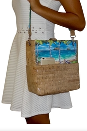 'olu'olu By Bliss Hawaii Pillbox Handbag - Front cropped