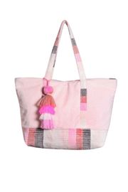 America & Beyond Pillow Blush Group Shoulder Tote - Front cropped