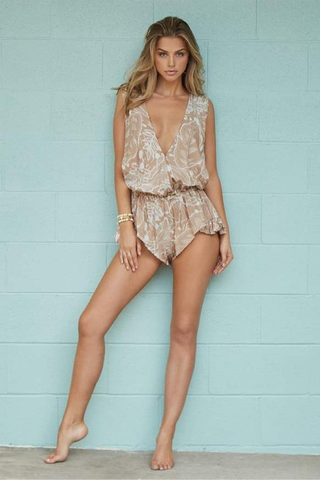PilyQ Annie Marie Romper - Front Cropped Image