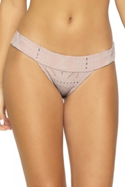 PilyQ Blush Banded Teeny - Front cropped