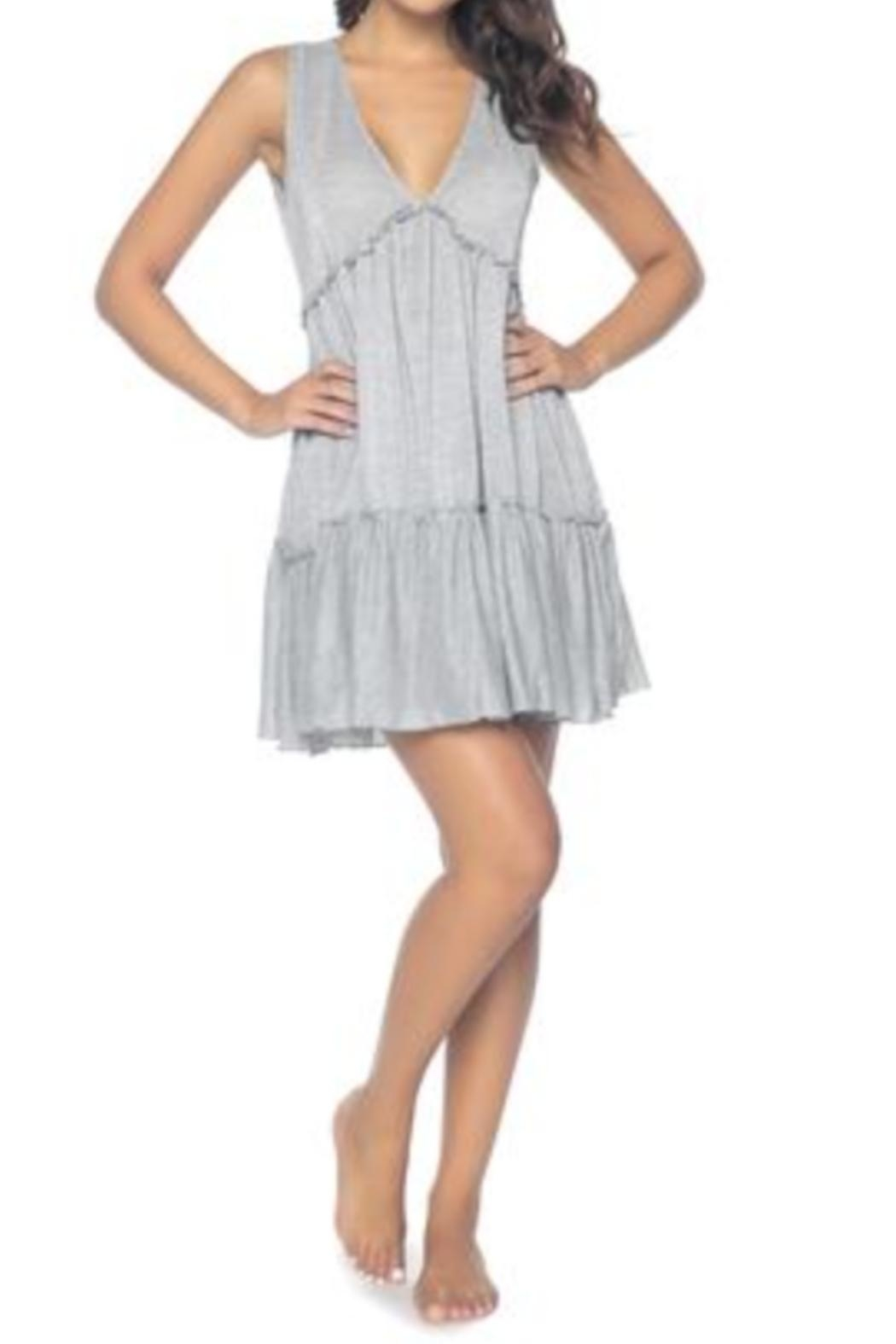 PilyQ Callie Silver Dress - Main Image