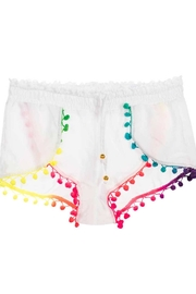 PilyQ Cotton Candy Shorts - Front cropped