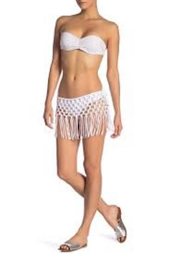 PilyQ Macrame Skirt - Alternate List Image