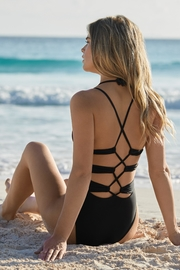 PilyQ Midnight Zoe One-Piece - Product Mini Image
