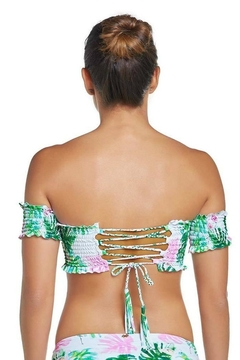 PilyQ Mingos Off-The-Shoulder Top - Alternate List Image