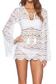 PilyQ Noah White Tunic - Product Mini Image