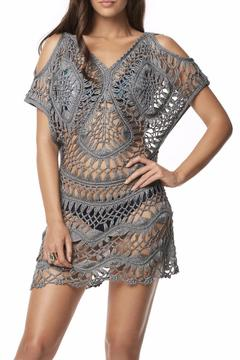 PilyQ Python Crochet Tunic - Product List Image