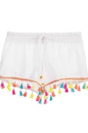 PilyQ Tassels Short - Front cropped