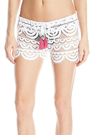 PilyQ Water Lily Lexi Shorts - Product Mini Image