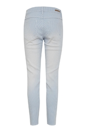 B.young Pin Stripe Jeans - Front full body