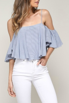 Mustard Seed Pin Stripe Top - Product List Image