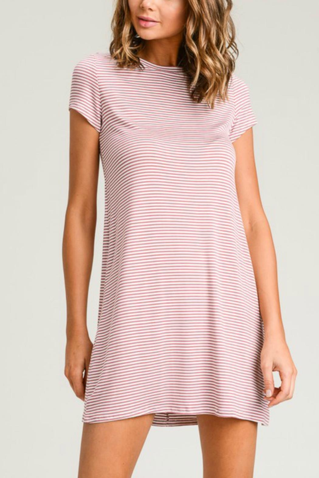 hot-selling real most desirable fashion great look Wasabi + Mint Pin-Striped Tshirt Dress from California by ...