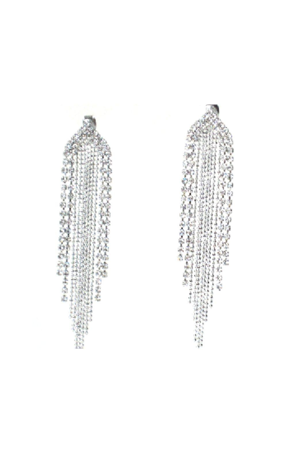 Lets Accessorize Chandelier Earrings - Front Cropped Image