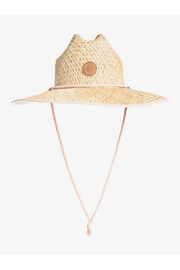 Roxy  Pina To My Colada Straw Hat - Front cropped