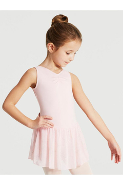 Capezio Pinch Front Tank Dress Leotard - Alternate List Image