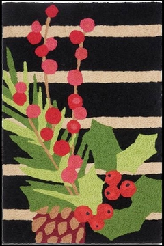 Jelly Bean Rugs Pine Berry Garland - Alternate List Image