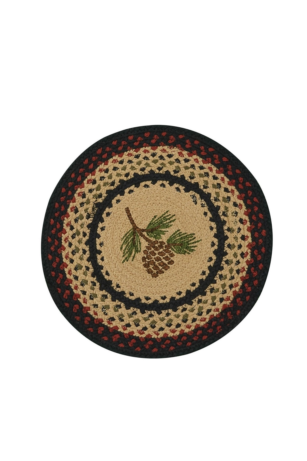 Park Designs Pine Cone Braided Placemat - Main Image