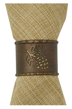 Park Designs Pine-cone Napkin Ring - Product List Image