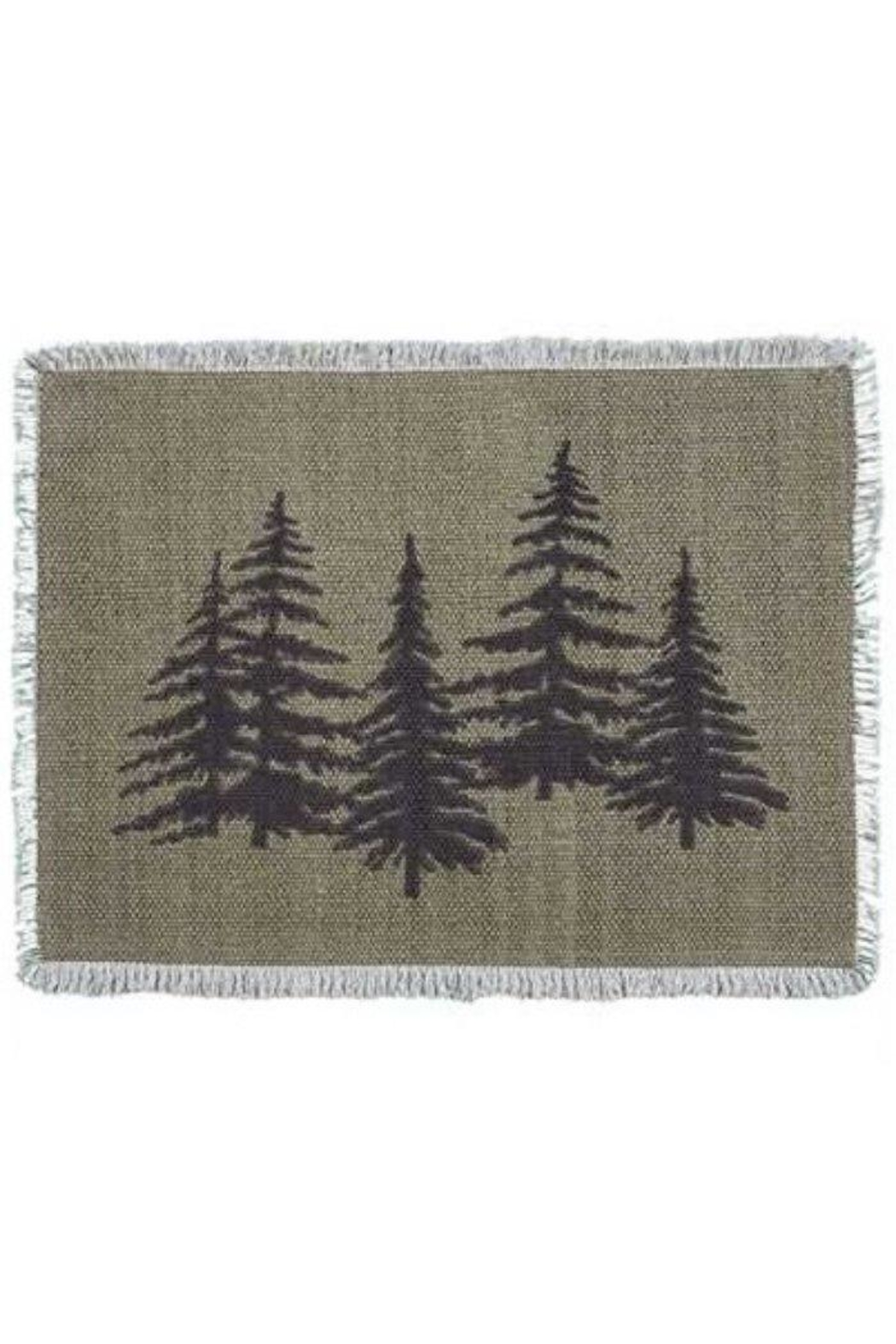 Park Designs Pine Tree Placemat - Front Full Image