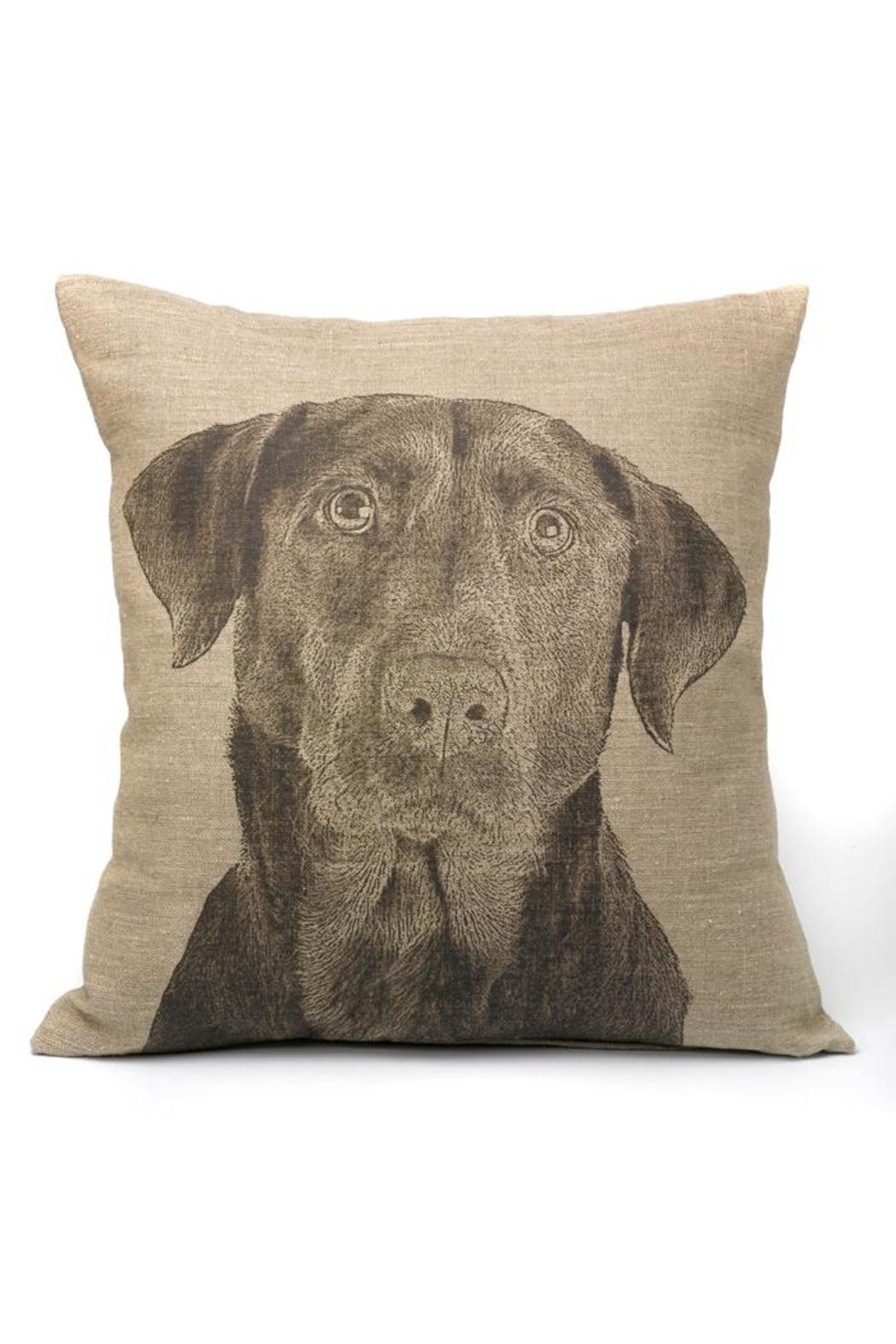 Pine Cone Hill Black Lab Pillow From Denver By Old Glory
