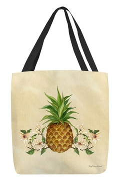 Shoptiques Product: Pineapple Dogwood Tote