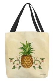 Sally Eckman Roberts Pineapple Dogwood Tote - Front cropped