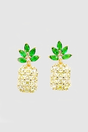 Embellish Pineapple Glitz Earrings - Product Mini Image