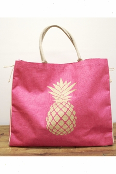 The Royal Standard Pineapple Jute Tote - Product List Image