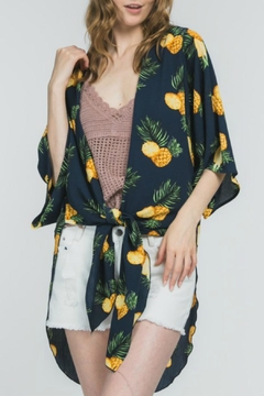 Adora Pineapple Paradise Kimono - Alternate List Image