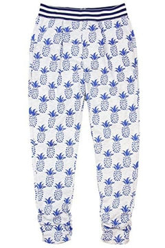 Deux Par Deux Pineapple Print Pants - Alternate List Image