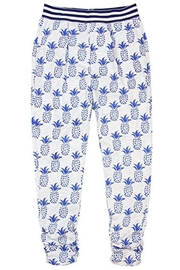 Deux Par Deux Pineapple Print Pants - Product Mini Image