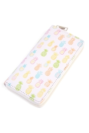 Riah Fashion Pineapple Print Wallet - Product Mini Image