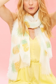 2 Chic Pineapple Scarf - Front cropped