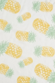 2 Chic Pineapple Scarf - Front full body