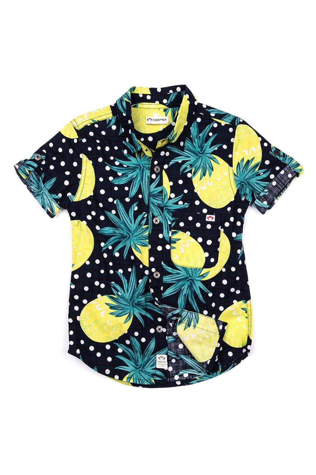 Appaman Pineapple Shirt - Front Cropped Image