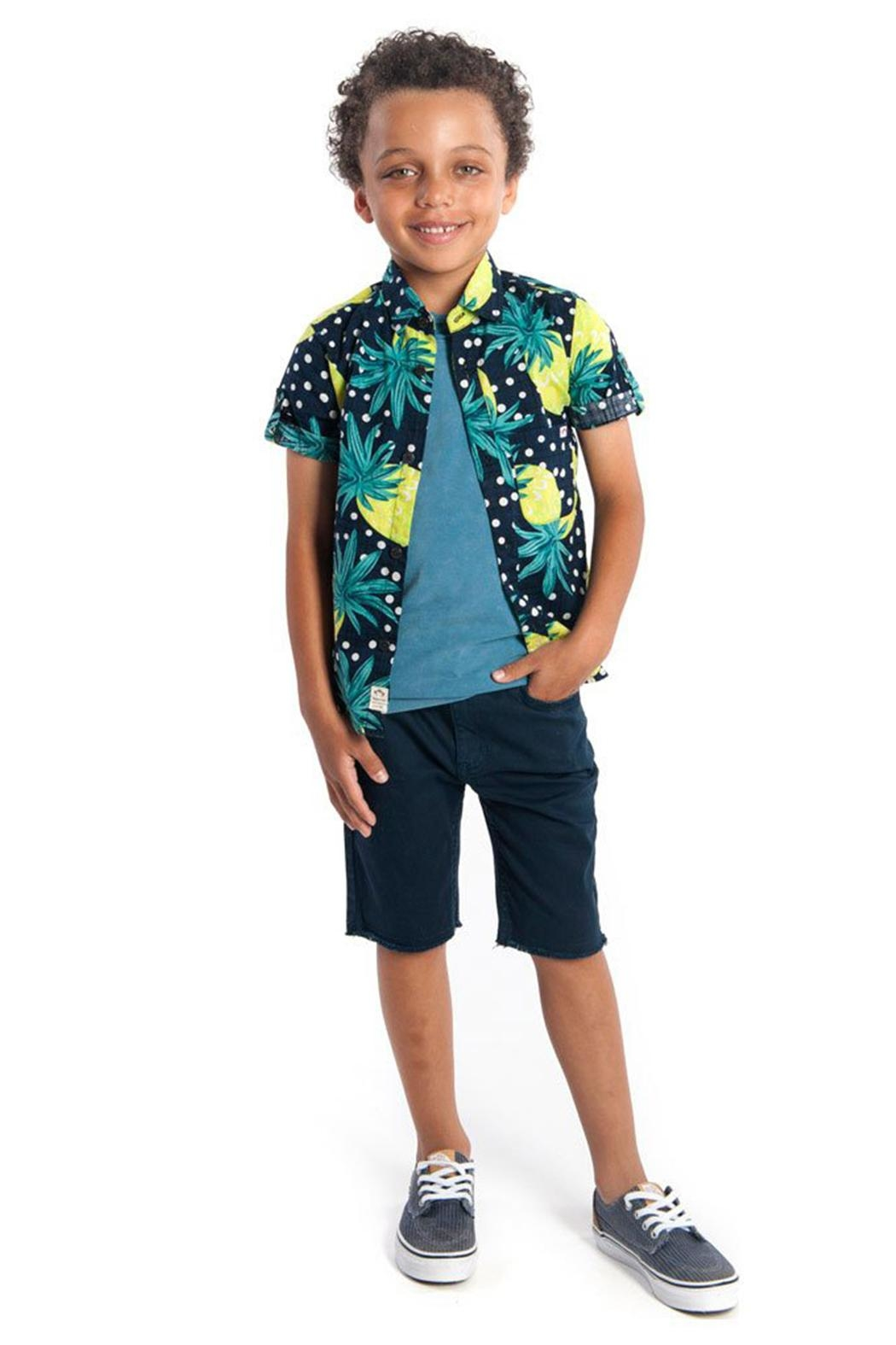 Appaman Pineapple Shirt - Front Full Image
