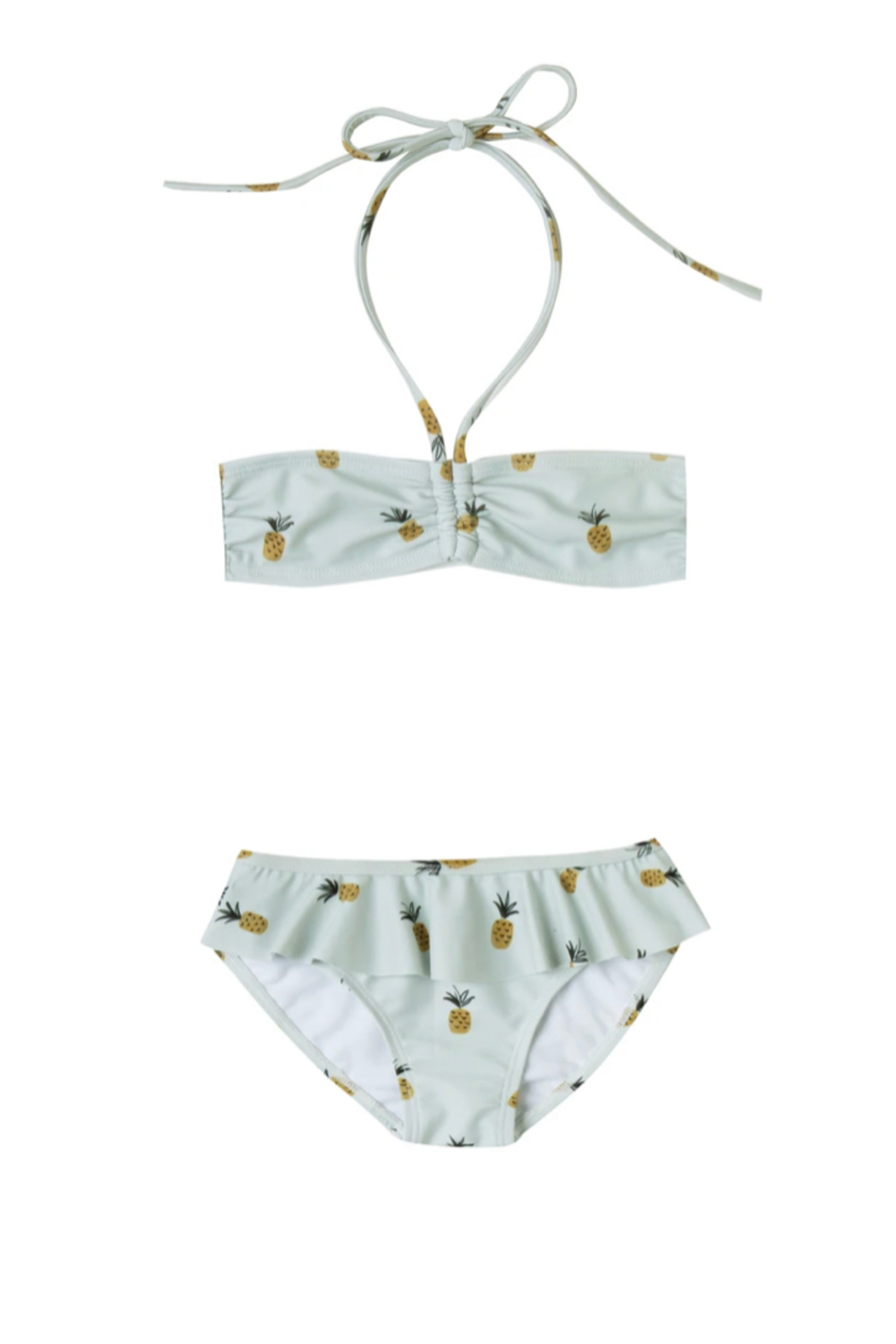 Rylee & Cru Pineapple Skirted Bikini - Front Full Image