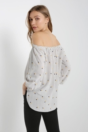 Soprano Pineapple Stripes Top - Side cropped