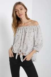 Soprano Pineapple Stripes Top - Product Mini Image