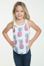 Chaser Pineapple Sunset Tee - Front cropped