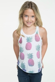 Chaser Pineapple Sunset Tee - Front full body